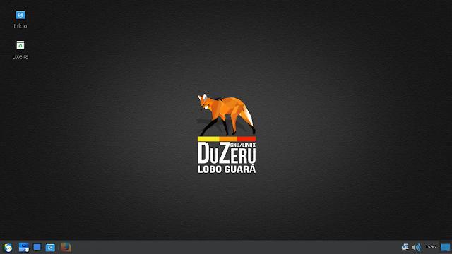 Área de trabalho DuZeru