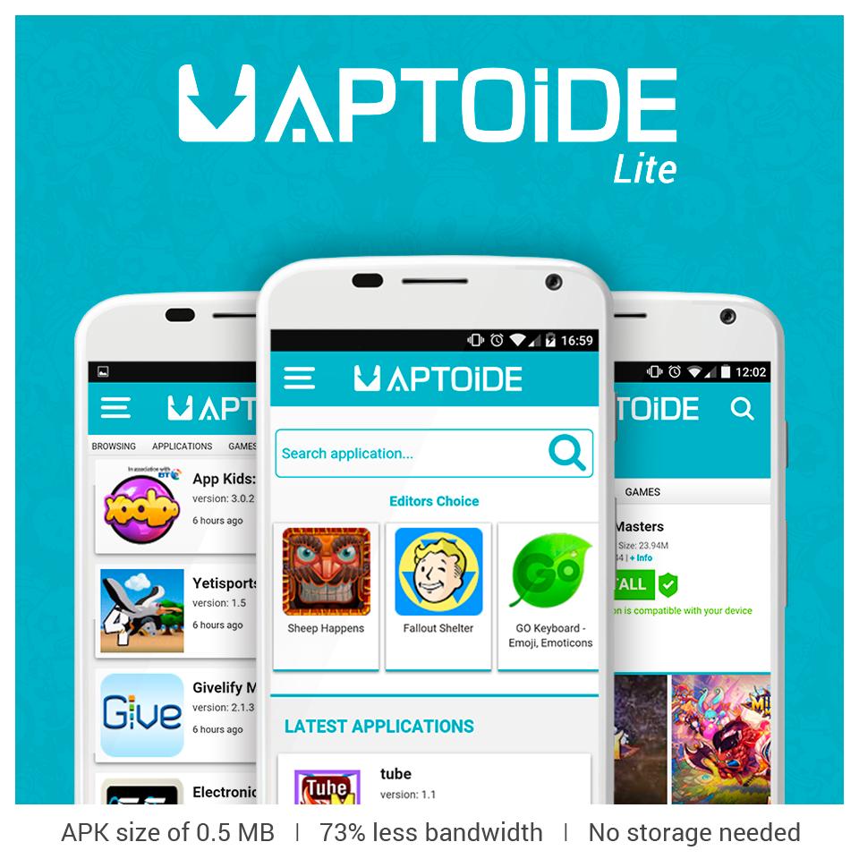 Aptoide Lite Free Download   Introduction To Aptoide Download