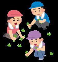 吉瀬の恒例の草刈り