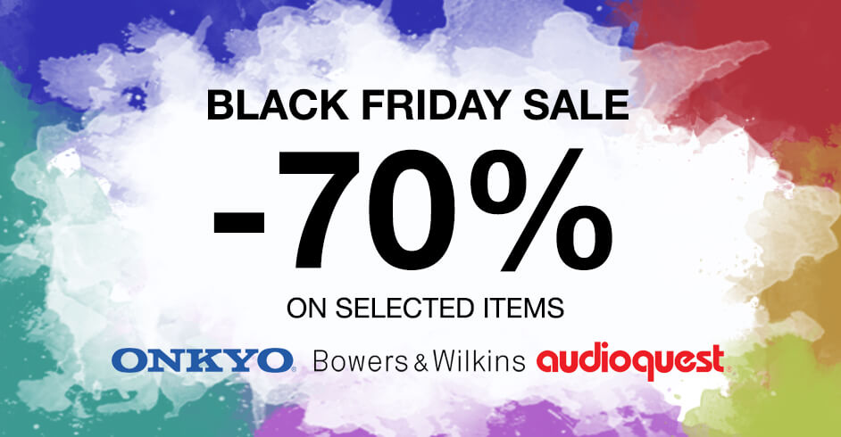 Get up to 70% off on Select Audio Products at Pure Digital Concept, Toyama Black Friday Sale