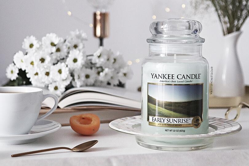 yankee candle early sunrise