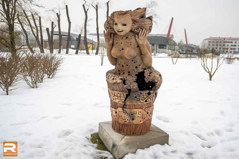 Šamota skulptūras Jelgava - 3