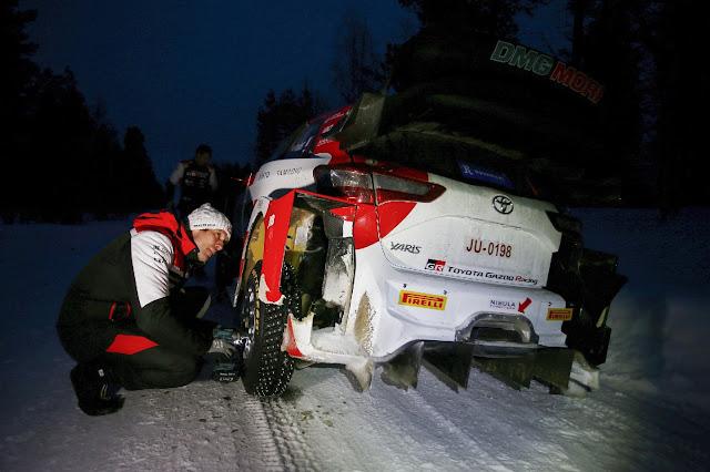 Seb Ogier WRC Arctic Rally 2021