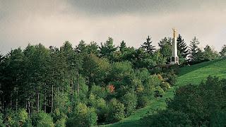 The hill Cumorah in western New York state