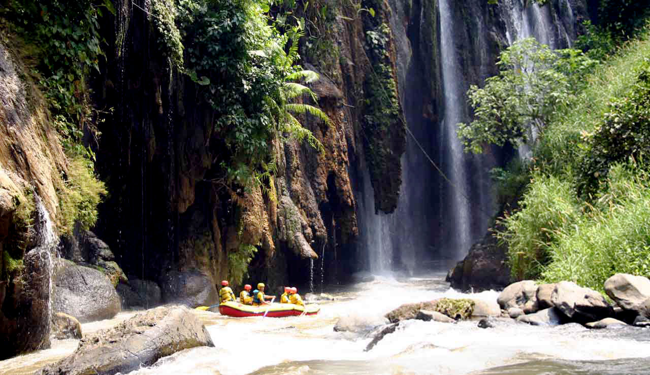 Songa Rafting and Adventure in Java Island Indonesia