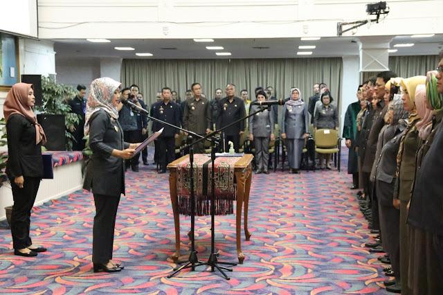 Wakil Gubernur Lampung Lantik 217 Pejabat Administrator Pemerintah Provinsi Lampung