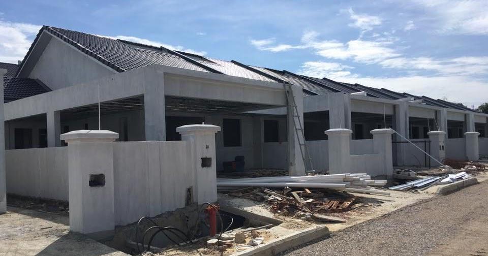 Jalan riam miri new single storey terrace house for sale for 3 storey terrace house for sale