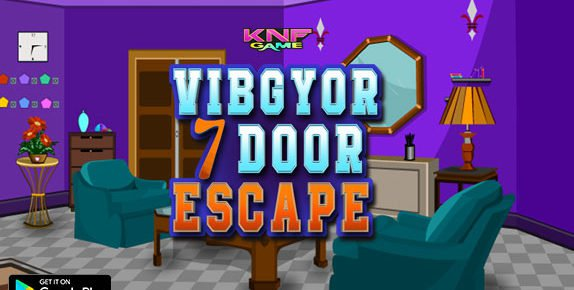 knfGame Vibgyor 7 Door Escape Walkthrough