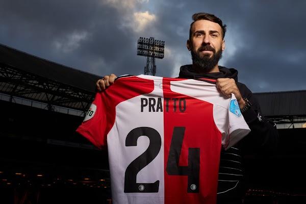 Oficial: Feyenoord, firma Lucas Pratto