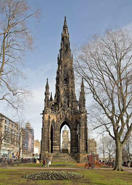 Sir Walter Scott Monument, Princes Street, Edinburgh