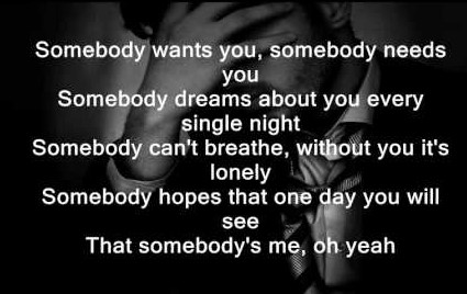 Somebody's Me Lyrics - Enrique Iglesias Somebody's Me Lyrics With Translate And Meaning