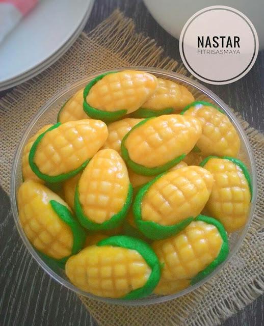 Cara membuat kue nastar jagung