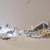 انهيارات جليدية بالنمسا تتسبب في تدمير مبان وإغلاق الطرق