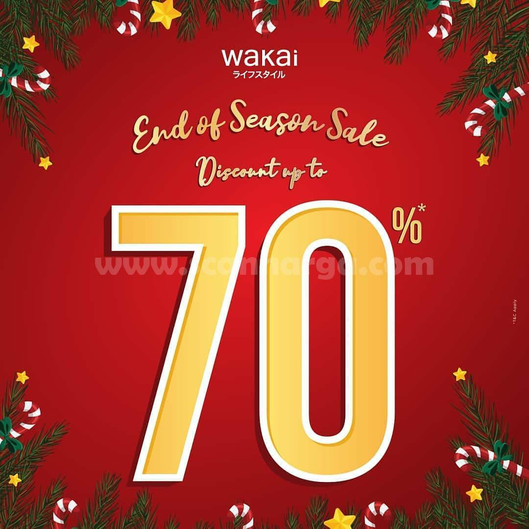 WAKAI End Of Season Sale Discount up to 70% Off