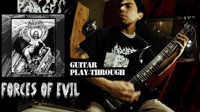 top Guitarristas de metal colombiano, música satánica, música sobre conspiración.