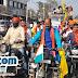 सोनो : महोत्सव में आमंत्रण देने सड़कों पर निकला युवाओं का जत्था