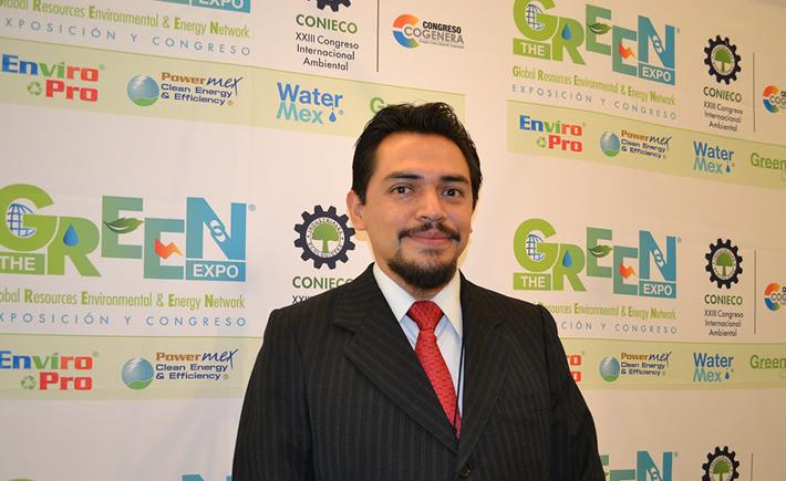 Responsable de Sustentabilidad de la Asociación Española de Normalización (AENOR) México, Adrián Ruiz Estrella. (Foto: VI)