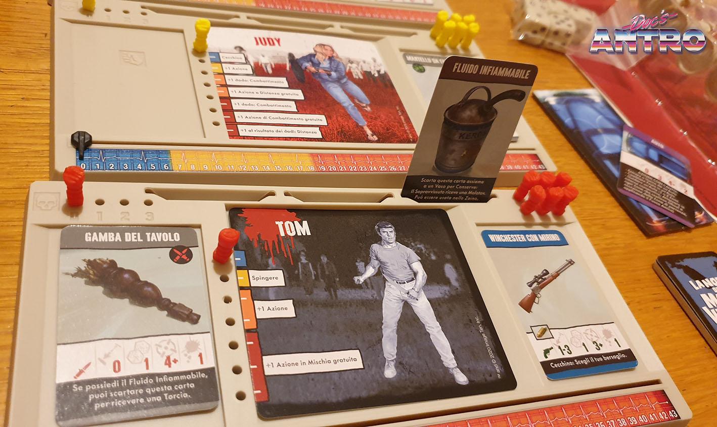 La notte dei morti viventi gioco da tavolo Zombicide recensione
