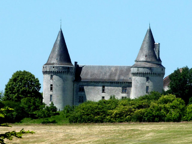 Chateau de Bagneux.  Indre et Loire, France. Photographed by Susan Walter. Tour the Loire Valley with a classic car and a private guide.