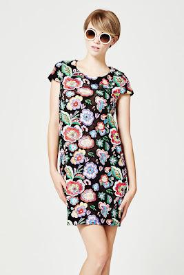 coleccion de Vestidos Floreados