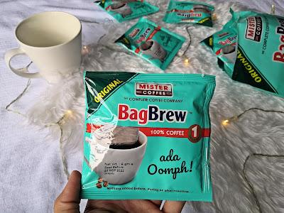 bag brew original mister coffee