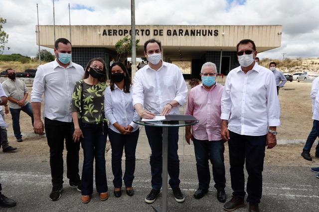Governo de Pernambuco autoriza requalificação do Aeroporto de Garanhuns