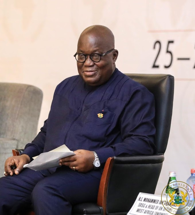 Akufo-Addo in isolation over Covid-19 fears
