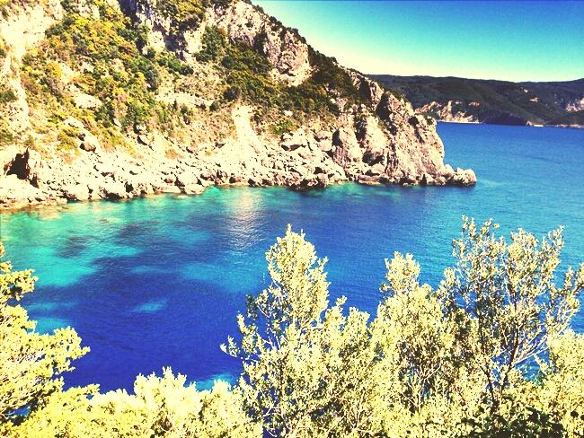 Corfu island nature