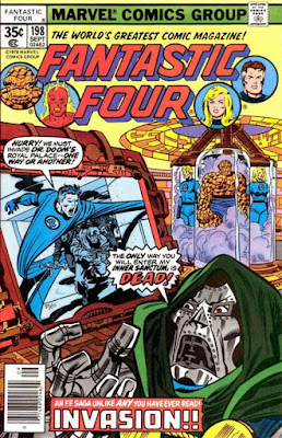 Fantastic Four #198, Dr Doom