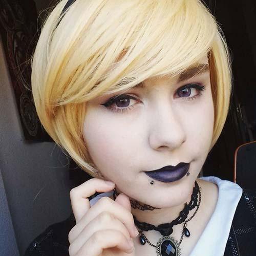 sarı saç snake bites piercing blonde