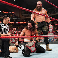 WWE - Sorprendente campeonato por parejas de RAW para Strowman y Rollins