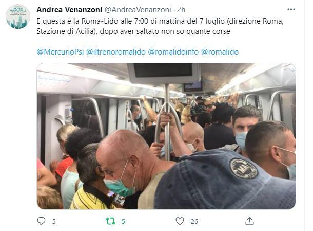 Roma-Lido: l'inizio di una lunga agonia