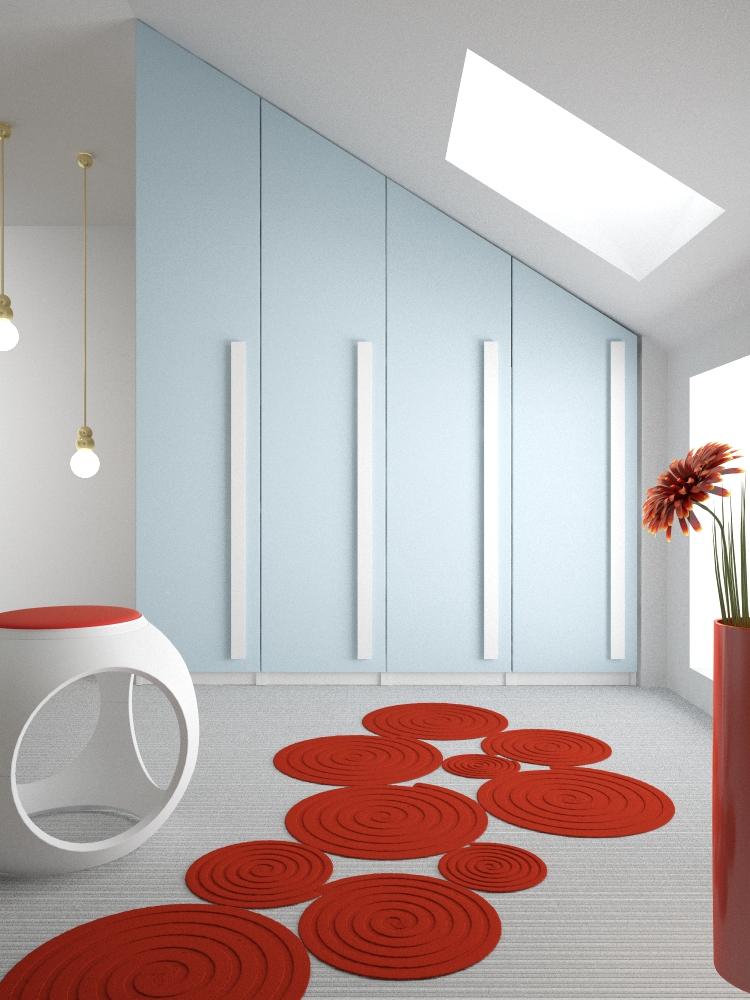 Bonetti camerette bonetti bedrooms camerette in mansarda for Mansarde arredate