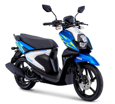 All New X-Ride Dynamic Blue (biru putih)