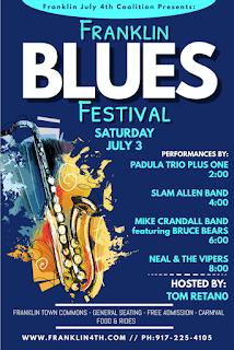 4th of July Celebration: Blues Festival  on Saturday
