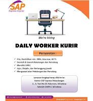 Lowongan Kurir Pekalongan di SAP Express