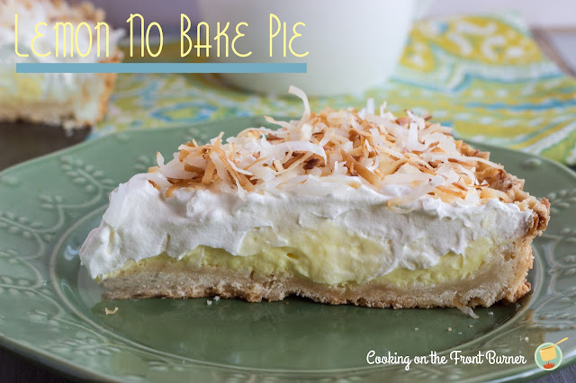 No Bake Lemon Pie | Cooking on the Front Burner