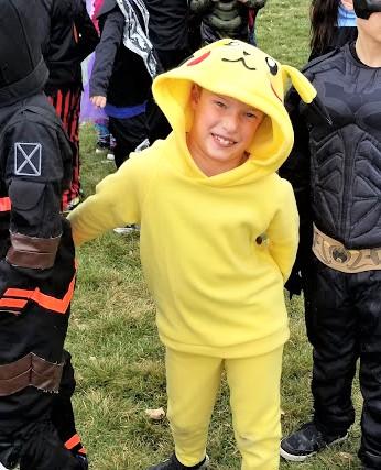 DIY Pikachu Costume