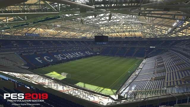 PES 2019 Schalke Start Screen For PES 2017