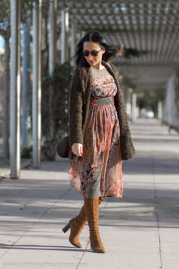 Bloguera influencer valenciana de moda belleza con ideas para vestir embarazada