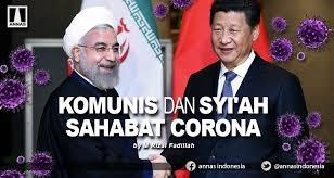 Komunis dan Syiah Sahabat Corona
