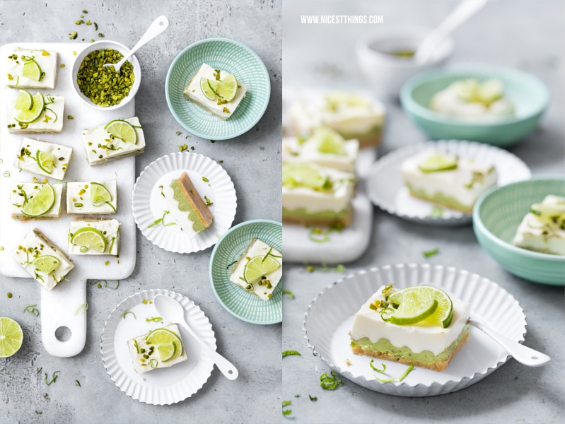No Bake Cheesecake Philadelphia Torte Avocado Limette