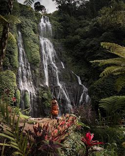 Wisata Air Terjun Banyumala Bali