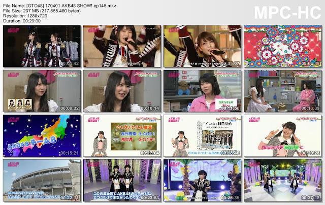 170401 AKB48 SHOW! Ep 146 Subtitle Indonesia