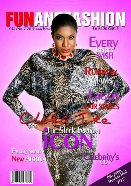 Photos: Chike Ike Stuns In Shoot For Glamour Magazine