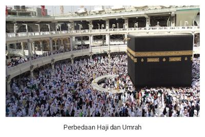 Perbedaan Mendasar Antara Ibadah Haji dan Umrah
