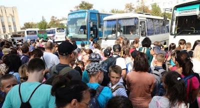 Власти Херсонской области эвакуируют детей из-под Армянска