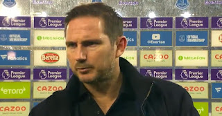 Lampard reacts to Everton loss: 'I would not say energy or desire wasn't there, we were just off it'