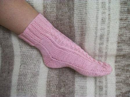 Tru Knitting носки на двух спицах без швов 3