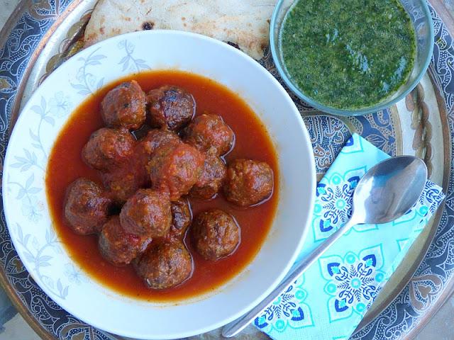 Ägypten Rezept Kofta in Tomatensoße Hackfleischbällchen